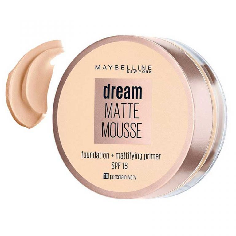 موس میبلین مدل Dream Matt Mousse شماره 10